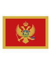 Fahne Montenegro